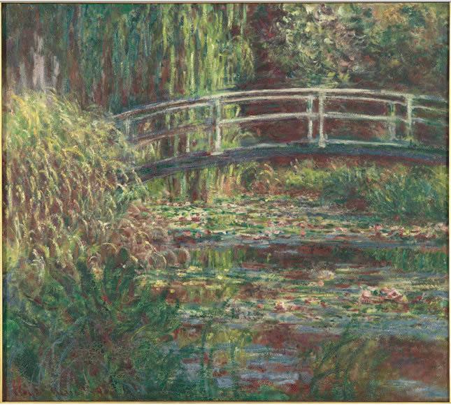 L'impressionista Claude Monet