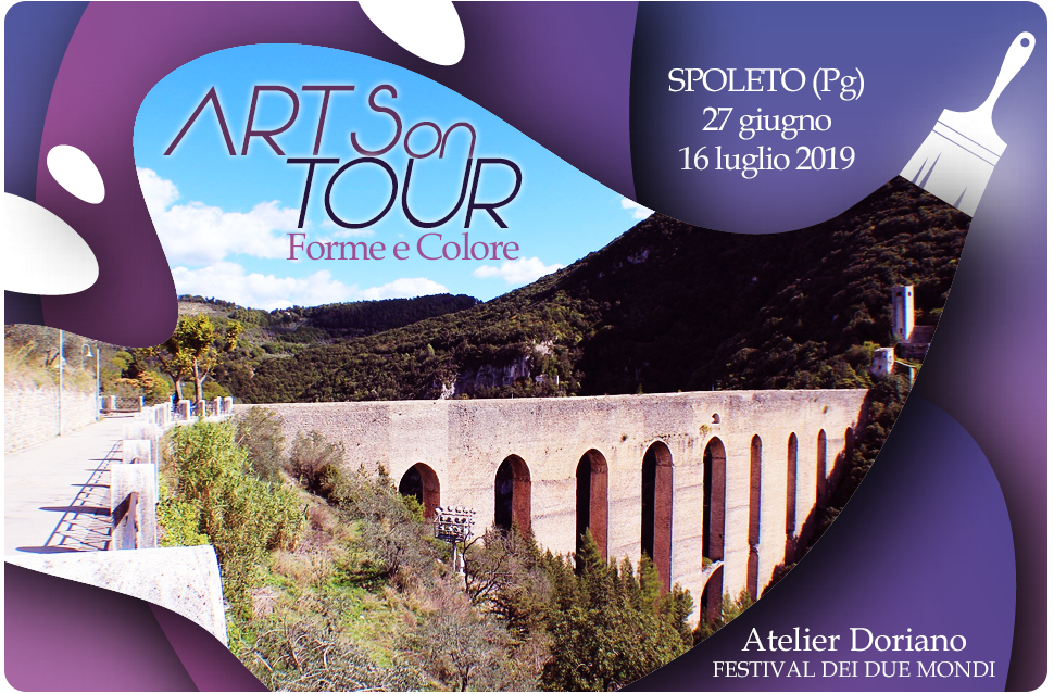 """Arts on tour"" Spoleto – Forme e colore"